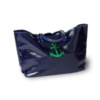 Wellie Market Tote With Anchor