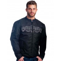 Mens Revolution Gear Jacket With Skull Embroidery (3538.00)