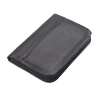 Leather Junior Zip Padfolio