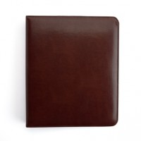 "Executive 1"" 1 Inch Binder Document Organizer In Leather"