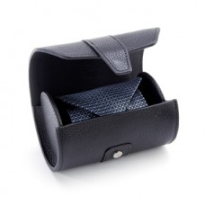 Leather Double Tie Roll Travel Case