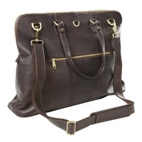 Leather Aviator Travel Tote