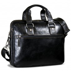 Voyager Slim Double Entry Top Zip Briefcase 7321