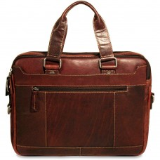 Voyager Slim Leather Briefcase 7320