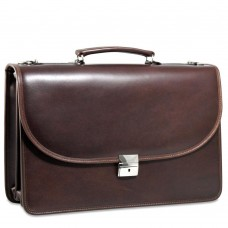 Platinum Special Edition Executive Leather Briefcase 8417