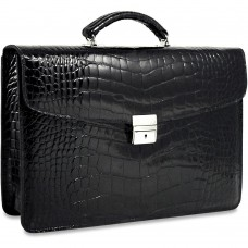 American Alligator Slim Briefcase