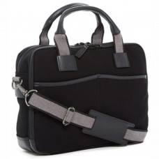 Canvas Zippered Briefcase