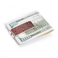 Luxury Genuine Alligator Money Clip Handcrafted in USA