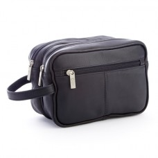 Colombian Leather Travel Toiletry Bag