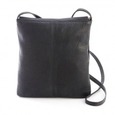 Colombian Leather Flap Over Crossbody Bag