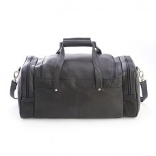 Colombian Leather Luxury Overnight Duffel Bag
