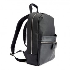 "Luxury 15"" Laptop Backpack Handcrafted in Genuine Pebbled Leather"