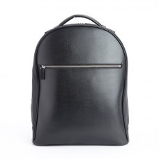 "Luxury 15"" Laptop Backpack Handcrafted in Genuine Saffiano Leather"