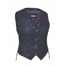 Ladies Premium Braided Vest (7482.00)