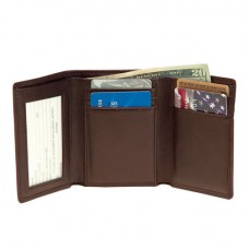 Men's Tri-Fold W/Double ID Window