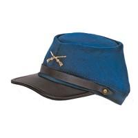 Adj Civil War Cap: Blue