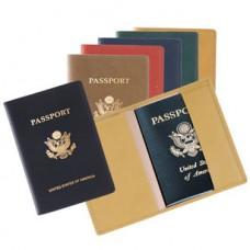 Foil Stamped Passport Jacket