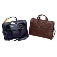 Harness Cowhide Leather Slim Brief with No. 9 Heavy Duty Zippers