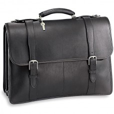 University Executive Leather Briefcase