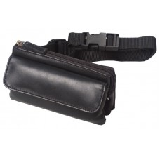 Cowhide Napa Leather & Microfiber Mini Fanny Pack