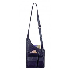 Combination of Leather & Microfiber Body Bag