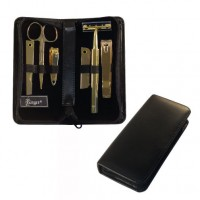 6 Piece Gold Plated Manicure Set