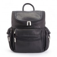 "Handcrafted Executive 15"" Laptop Backpack In Genuine Colombian Leather"