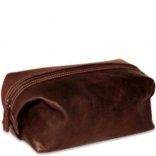 Voyager Collection 7219 Dopp Kit Brown