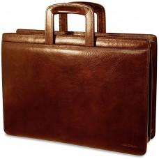 Sienna Slim Leather Briefcase
