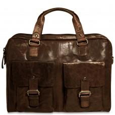 Spikes & Sparrow Slim Zippered Briefcase  74201