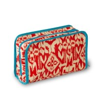 Wellie Ikat 2 Piece Cosmetic Case