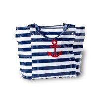 Wellie Travel Tote with Anchor