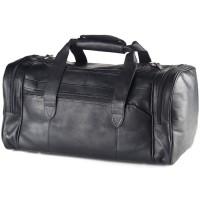 Executive Leather Duffel