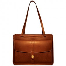 Belmont Leather Dowel Tote Bag