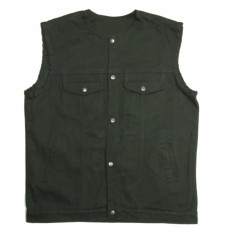Mens Denim Vests (DM2610.BK)