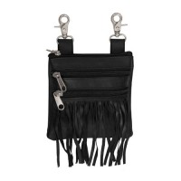 WAIST POUCH WITH FRINGE