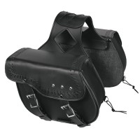 SADDLEBAG WITH HAND-LACING