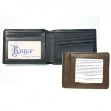 Double Id Flat Fold Wallet (RFID Blocking)