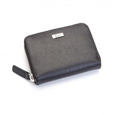 Saffiano Mini Fan Wallet (RFID Blocking)