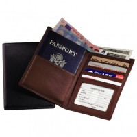 Passport Currency Wallet (RFID Blocking)