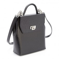 Convertible Backpack Handbag In Saffiano Leather (RFID Blocking)