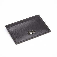 Saffiano Leather Slim Card Case Wallet (RFID Blocking)