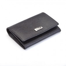 Saffiano Gussett Card Case (RFID Blocking)