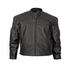 Mens Maverick Jacket: Rustic Cracker