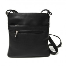 Vaquetta Triple Zip Crossbody Bag
