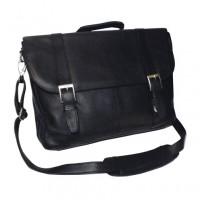 Vaquetta Triple Compartment Laptop Briefcase