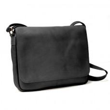 Vaquetta Shoulder Bag with Flap