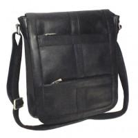 Vaquetta Vertical 16 Inch Laptop Messenger Bag
