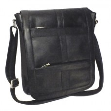 Vaquetta Vertical 16 Inch Laptop Messenger Bag
