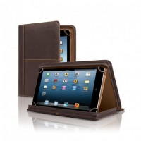 "Premiere Leather Universal Tablet Padfolio - Fits Tablets 8.5"" Up To 11"""